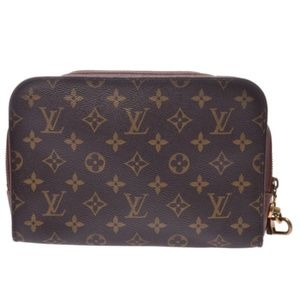 💯 Auth Louis Vuitton Monogram Orsay Clutch Bag